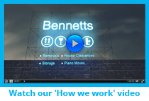 Bennetts Removals - How we work video