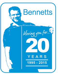 Bennetts Removals 20 Year Anniversary