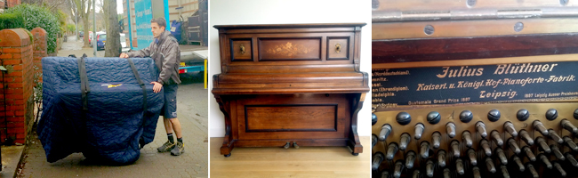 Bennetts - Specialist Piano and Antique Furniture Removals